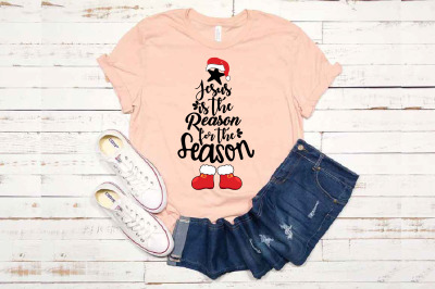 Christmas Tree SVG Jesus is the reason for the season 1582s
