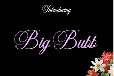 BigBubb Font