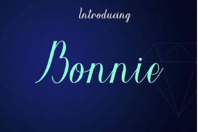 Bonnie font