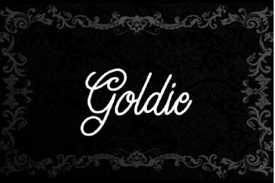 Goldie font