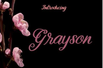 Grayson Font