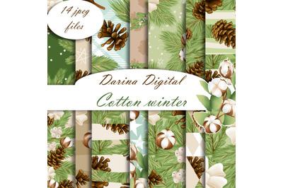 Cotton winter patterns