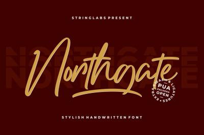 Northgate - Stylish Handwritten Font