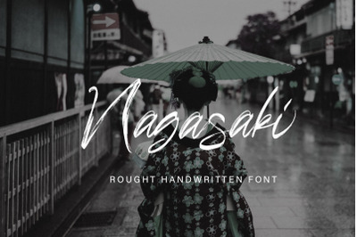 Nagasaki Brush Script Font