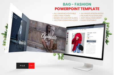 BAG - FASHION PowerPoint Template