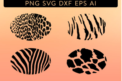 Animal Print Oval Pack