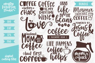 Coffee Lover Bundle 11 Designs SVG DXF