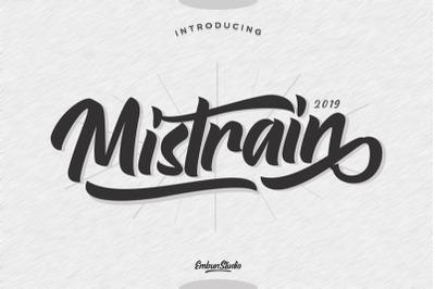 Mistrain Moder Calligraphy