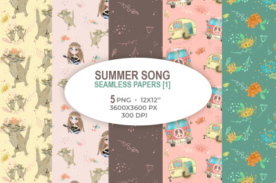 Summer Song papers 1