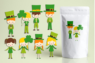 St Patrick's Day Kids