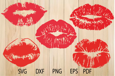 Lips Lips SVG, Lips silhouette, Kiss SVG, Kissing Lips, Mouth svg
