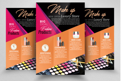 Beauty Cosmetic Flyer Poster