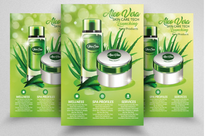 Herbal Beauty Product Flyer Template