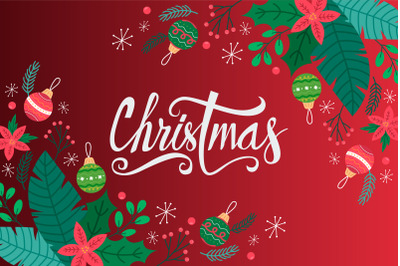 beatiful merry christmas greeting