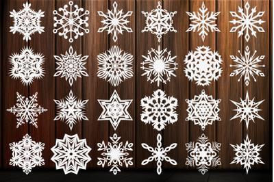 Snowflake SVG, Christmas Snowflakes SVG