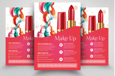 Make Up/Cosmetic Flyer Template
