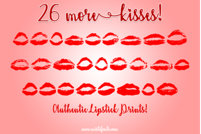26 More Kisses