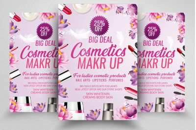 Cosmetics Flyer/Poster Template
