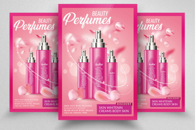 Perfumes Product Sale Offer Flyer