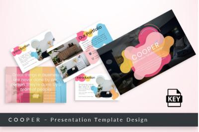 Cooper - Keynote Presentation Template