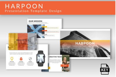 Harpoon - Keynote Presentation Template