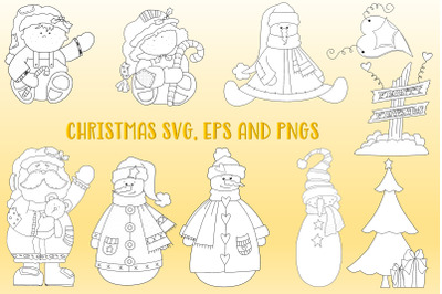 Christmas Clipart SVG, EPS and PNG