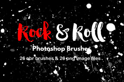 Paint Splatter Watercolor Brushes Grunge Graffiti