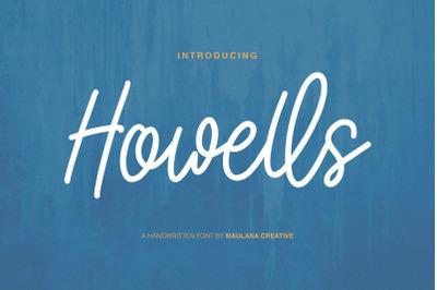 Howells Script Font