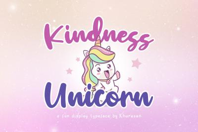 Kindness Unicorn
