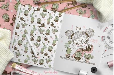 I love cacti.