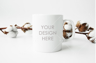 Kraft Coffee Cup With Holder Mockup