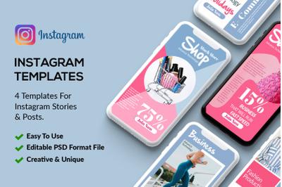 4 Instagram Stories - Product Sale