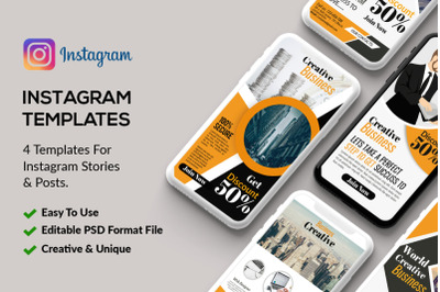 4 Business Conference Instagram Stories