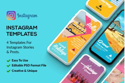 4 Instagram Stories Tour & Travel