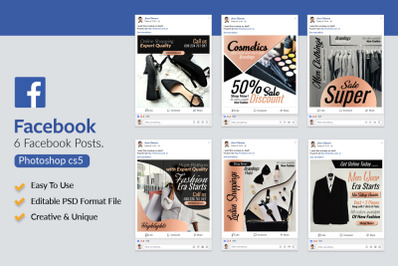6 Fashion Product Promotion Facebook Posts