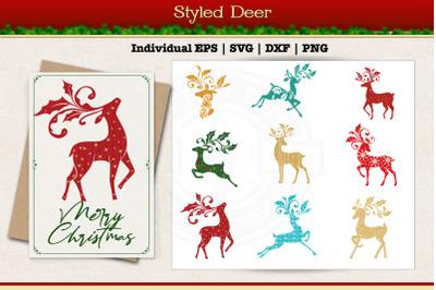 Styled Deer