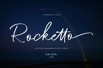 Rocketto Stylish Handwritten