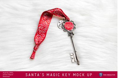 Santa's Magic Key Mock up