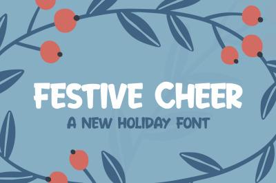 Festive Cheer Font