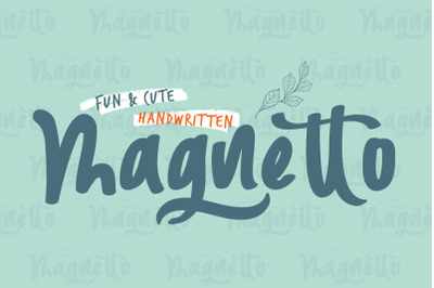 Magnetto Font