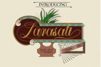 Larasati (font duo with extras)
