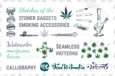 Weed. Stoner gadgets and accessories