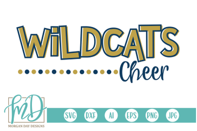 Wildcats Cheer SVG