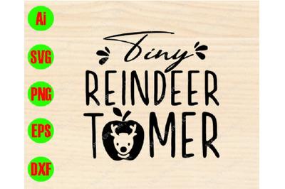 Tiny reindeer tomer svg, dxf,eps,png, Digital Download