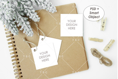 Gift Tag / Favor Tag / Thank You Tag / Tag Mockup