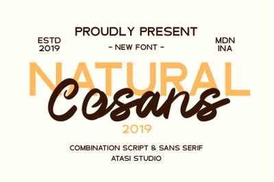 Cosans - Font Duo