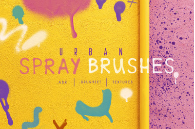Procreate&Ph Urban Spray Brushes