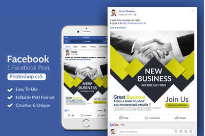 Business Facebook Post Banner