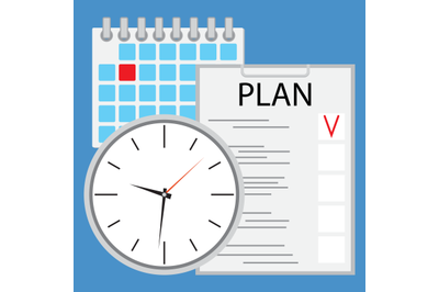 Planning and organization of time flat