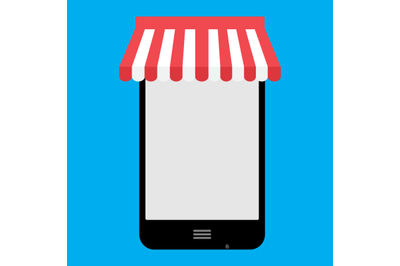 Online shopping with smartphone